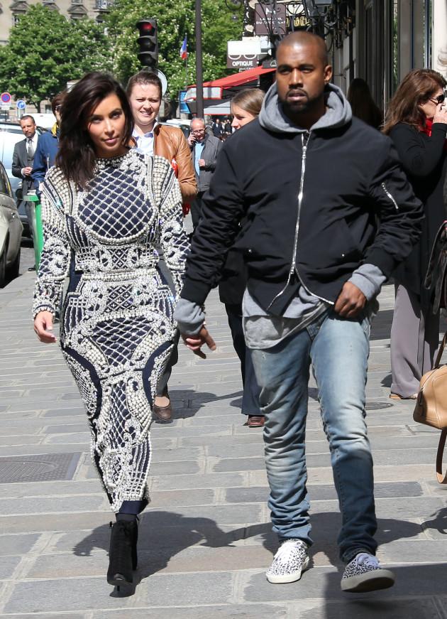 Kim and 'Ye Abroad