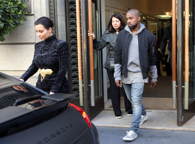 Kimye Goes Shopping