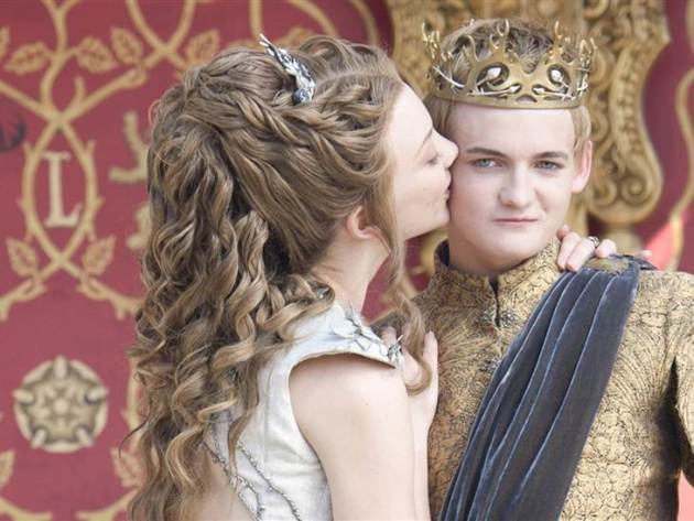 King Joffrey Purple Wedding Image