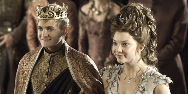 Joffrey and Margaery at the Purple Wedding