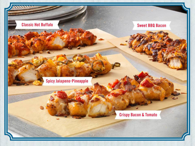 Domino's Breaded Chicken Pizza