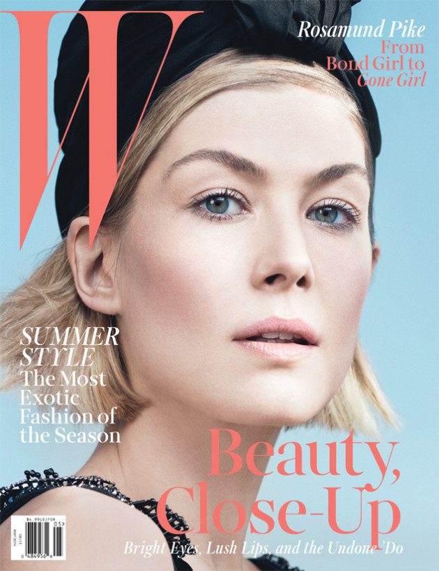 Rosamund Pike W Magazine Cover