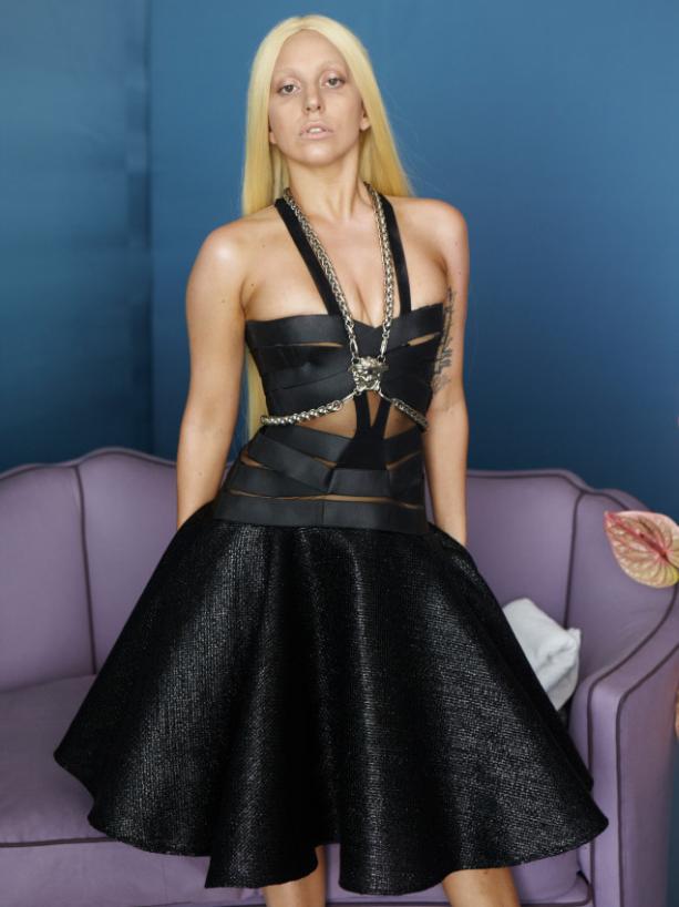 Lady Gaga Versace Ad