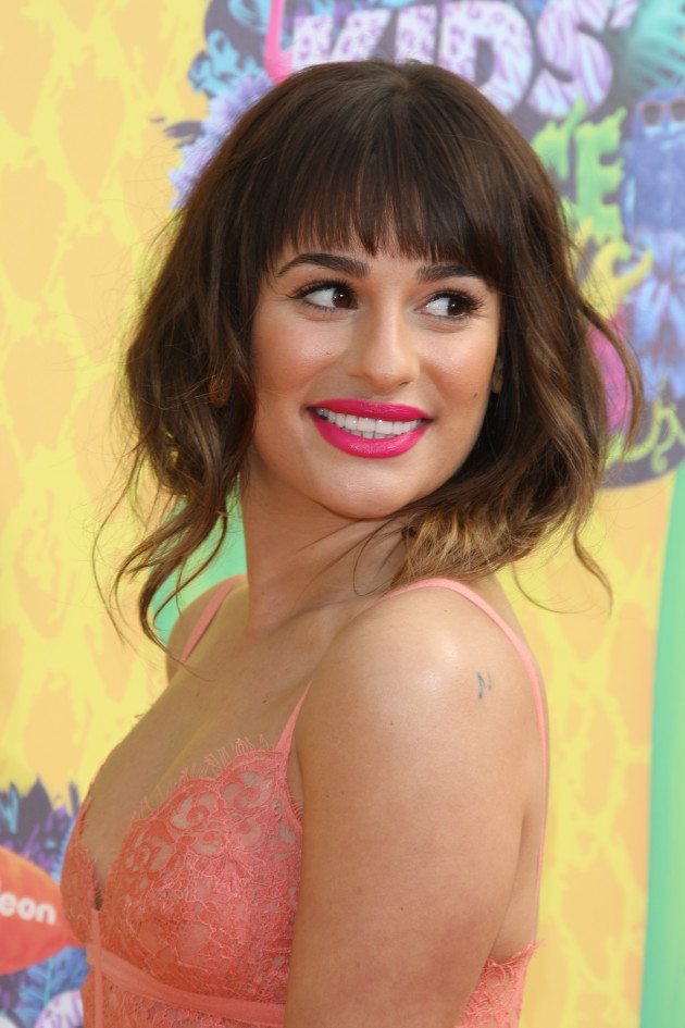 Lea Michele Close-Up Image