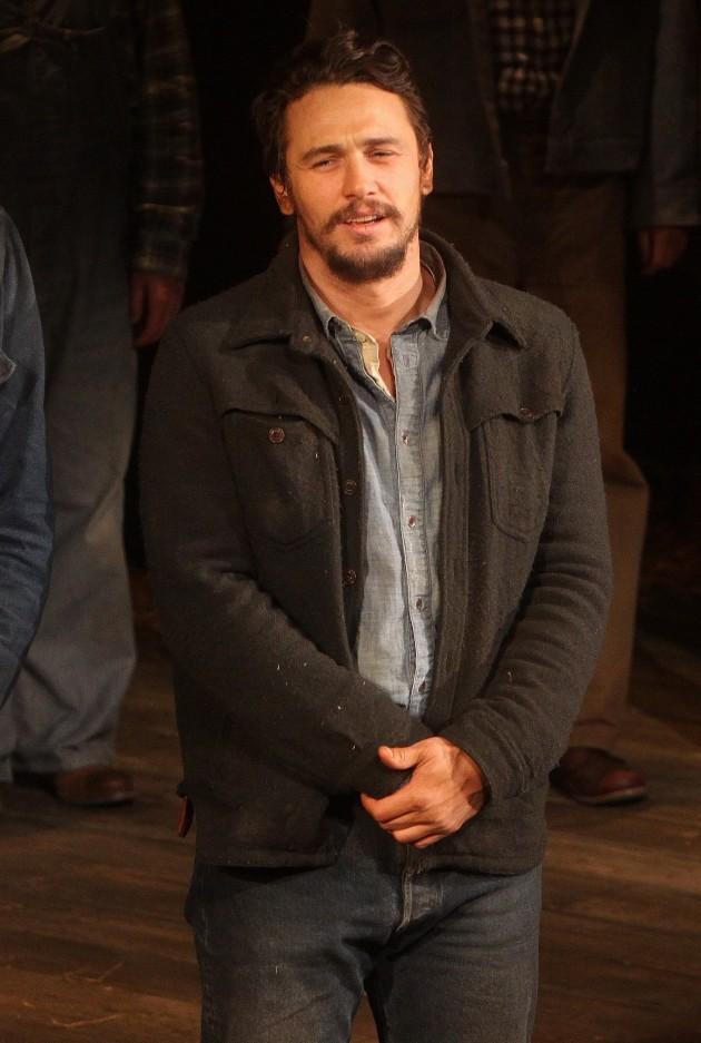 James Franco On Stage