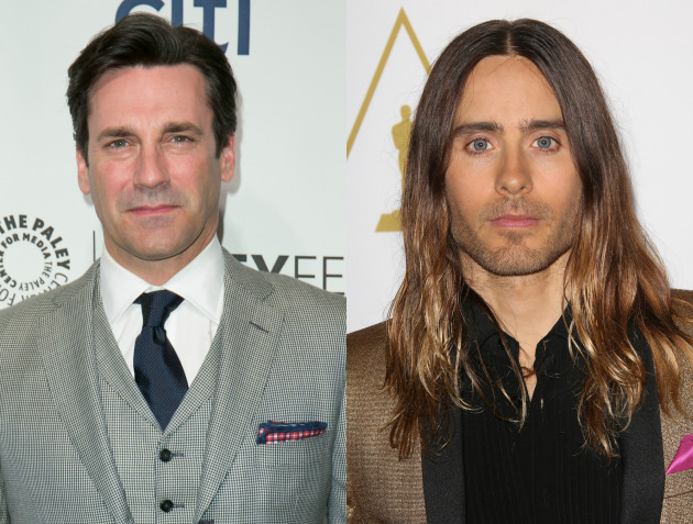 Jon Hamm and Jared Leto