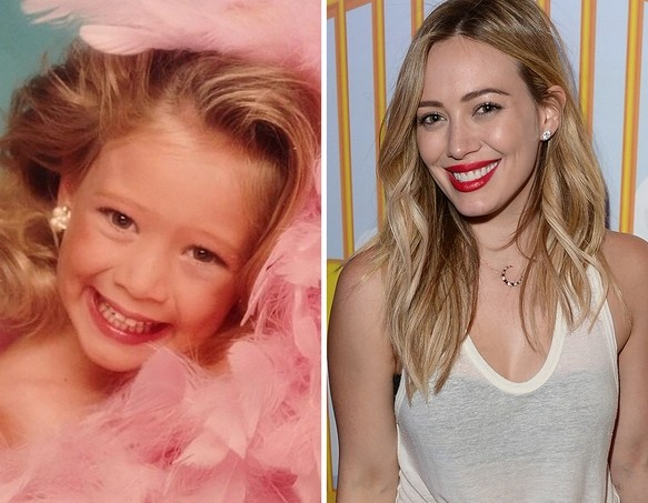 Hilary Duff as a Kid