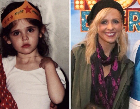 Sarah Michelle Gellar as a Kid