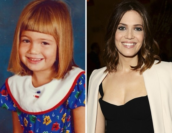 Mandy Moore as a Kid