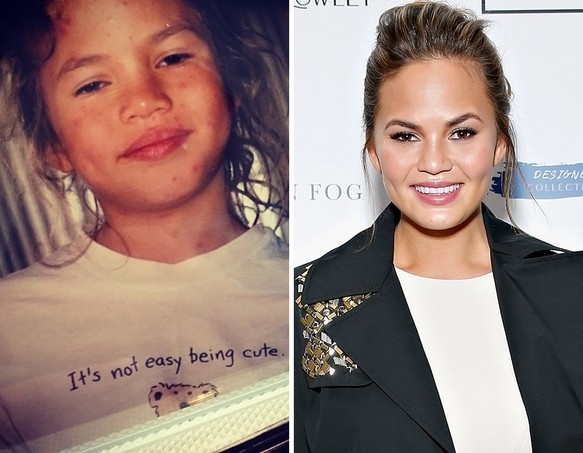 Chrissy Teigen as a Kid