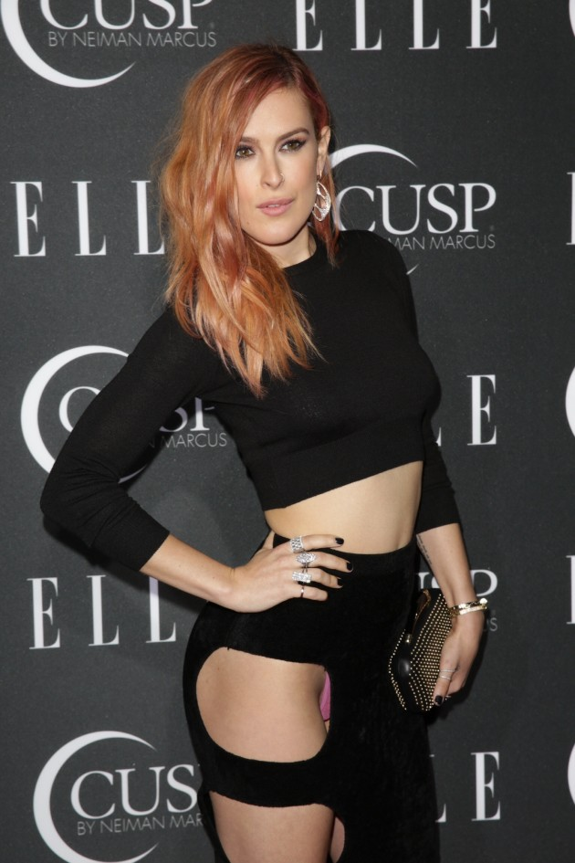 Rumer Willis Wardrobe Malfunction