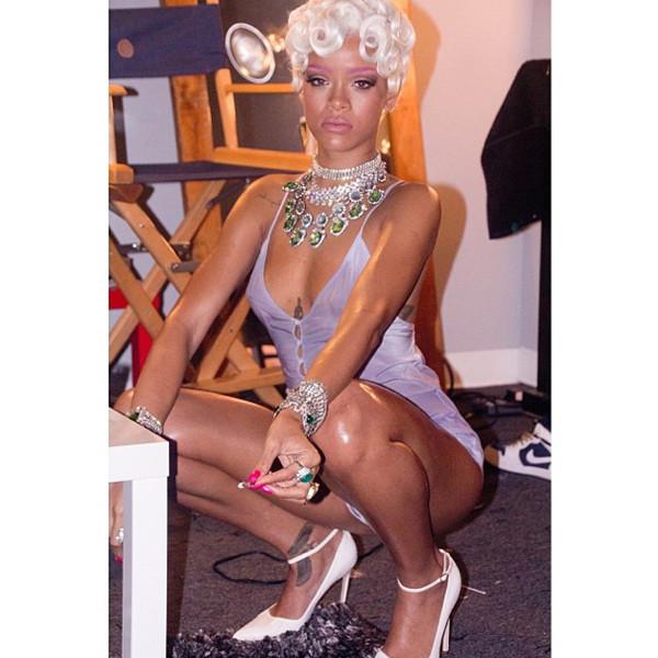Rihanna: Lingerie and Jewelry Photo