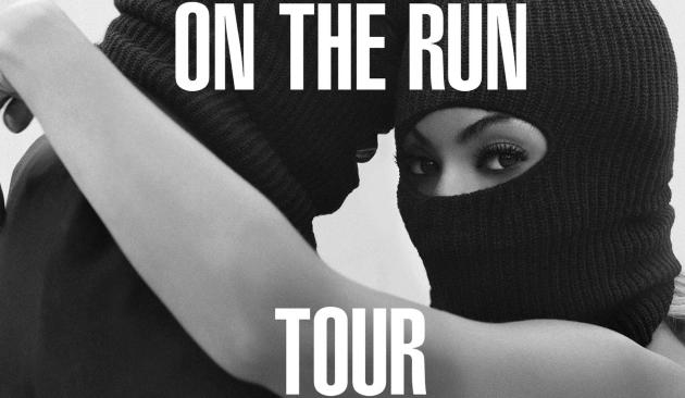 On the Run Tour Art