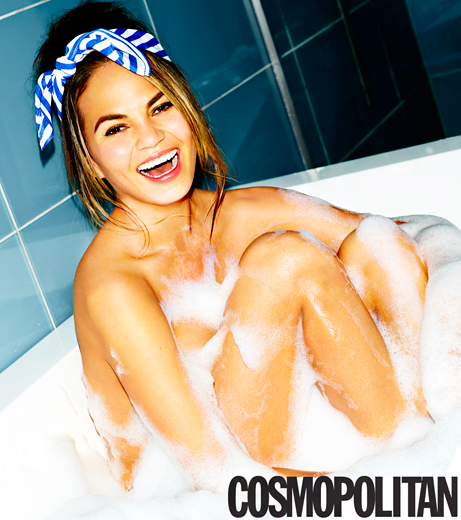 Chrissy Teigen in the Tub