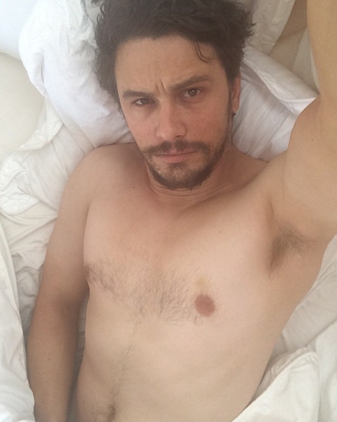 James Franco Naked on Instagram
