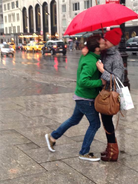 Couple Gets Engaged in NYC