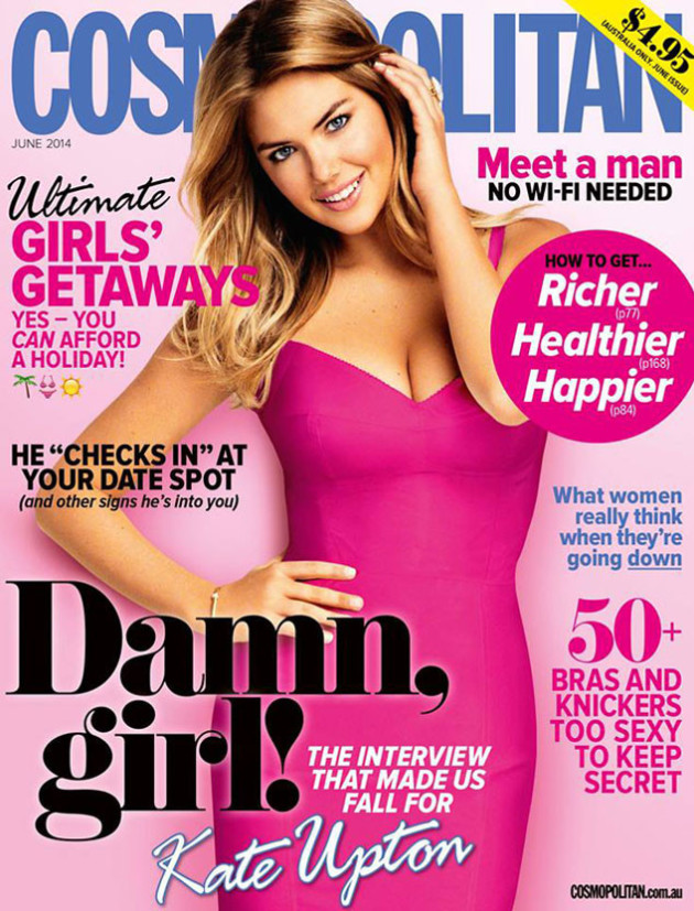 Kate Upton Cosmopolitan Australia Cover