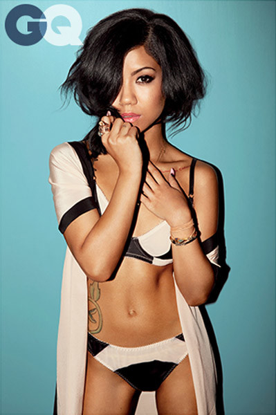 Jhene Aiko Underwear Photo