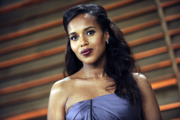 Kerry Washington in Purple