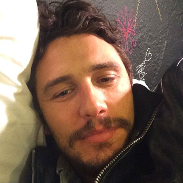 James Franco in the Sack