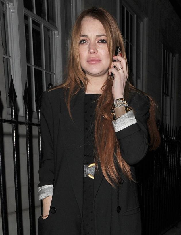 Lindsay Lohan Drunk In London