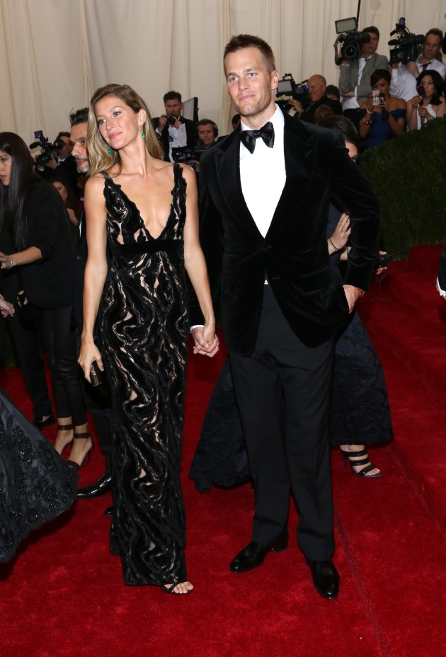 Gisele and Tom Brady at the 2014 MET Gala