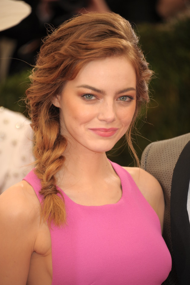 Emma Stone MET Gala Photo