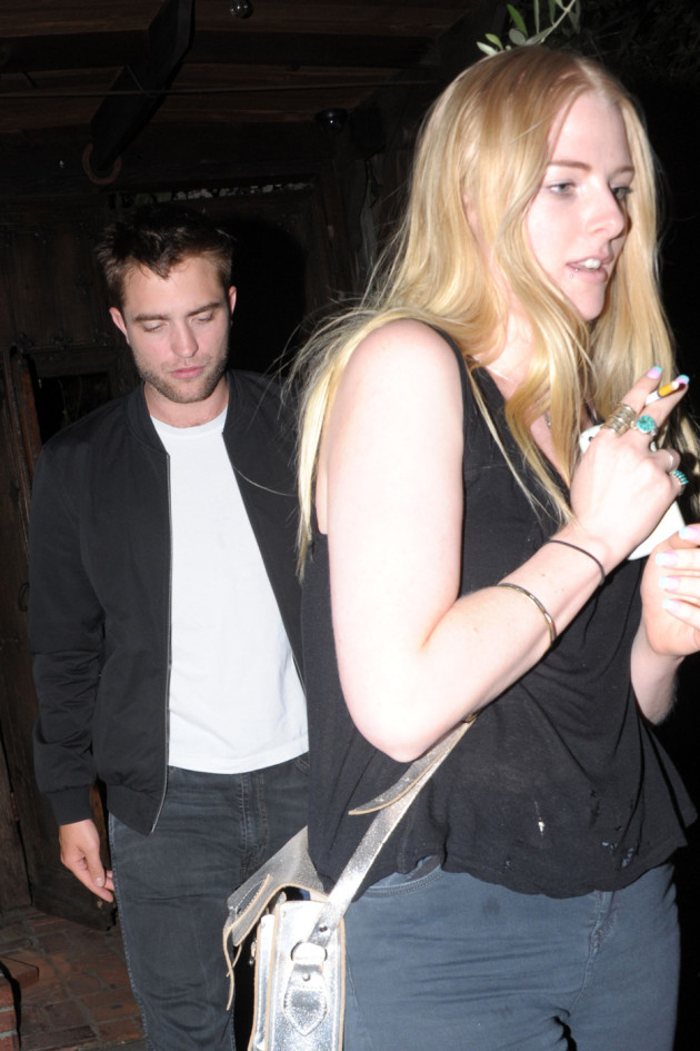 Imogen Ker and Robert Pattinson