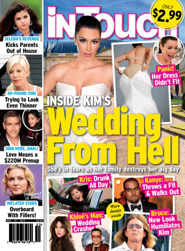 Kim Kardashian Wedding Nightmare