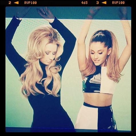 "Ariana Grande, Iggy Azalea Tease ""Problem"" Video: First ..."