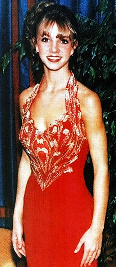 Britney Spears Prom Dress