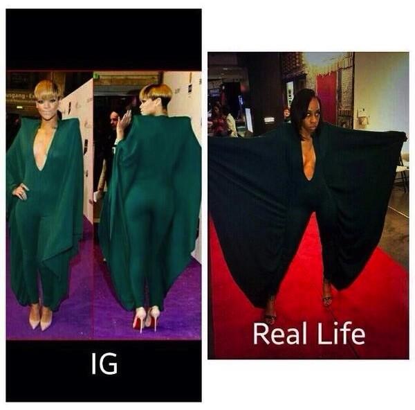 Rihanna Mocks Alexis Carter