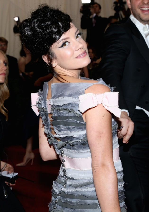 Lily Allen at MET Gala