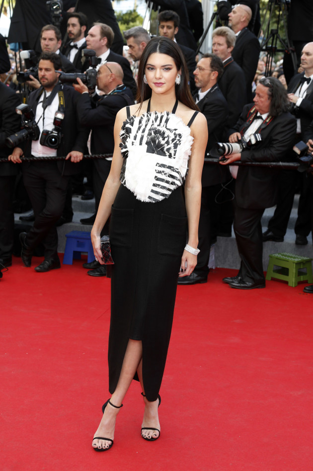 Kendall Jenner: Red Carpet at Cannes
