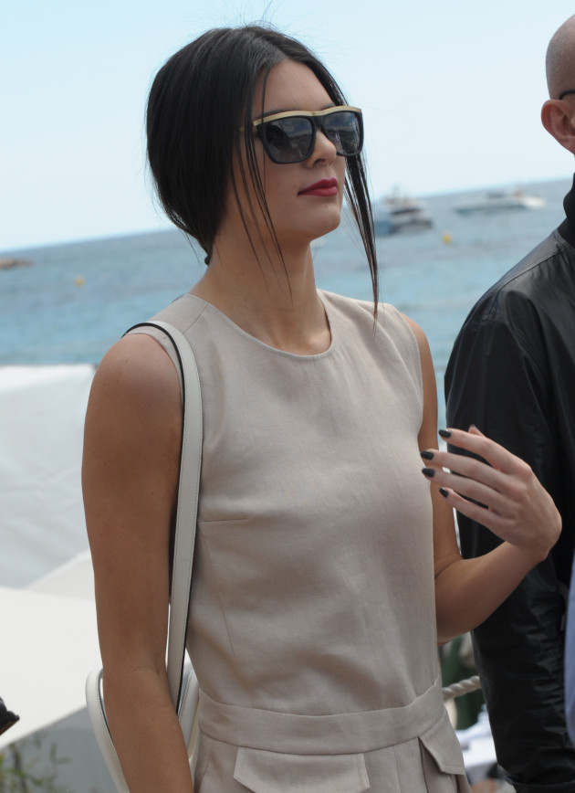 Kendall Jenner: Casual at Cannes