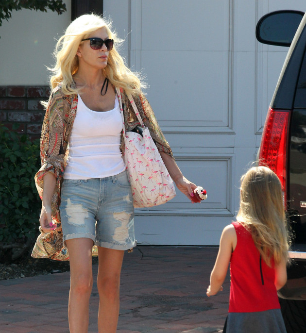 Tori Spelling and Stella McDermott Photo