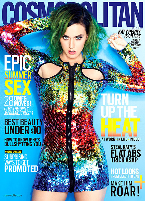 Cosmo Cover Starring Katy Perry