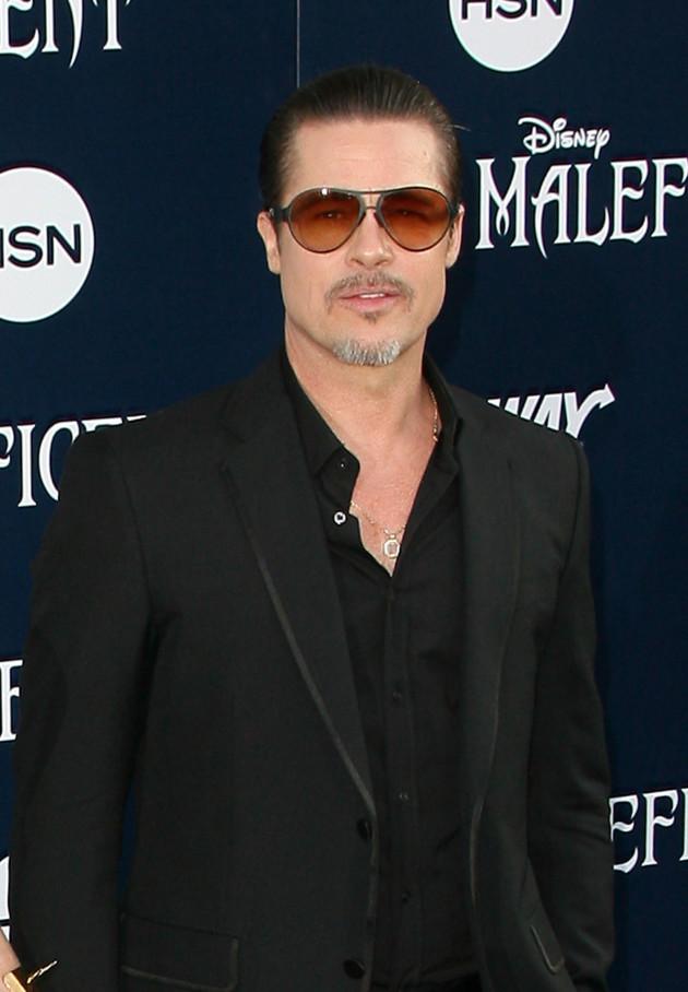 Brad Pitt at Maleficent Premiere
