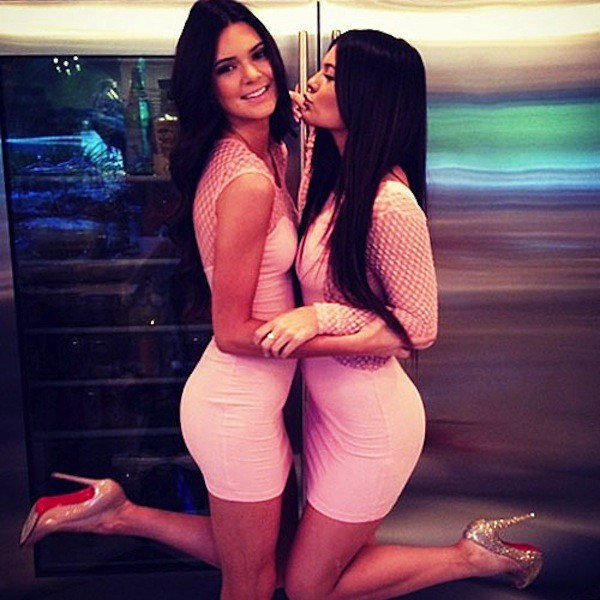 Kendall and Kylie Sexy Photo