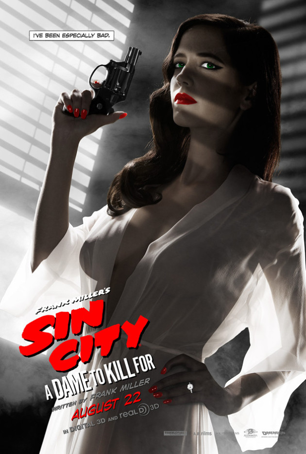 Eva Green: Sin City Poster