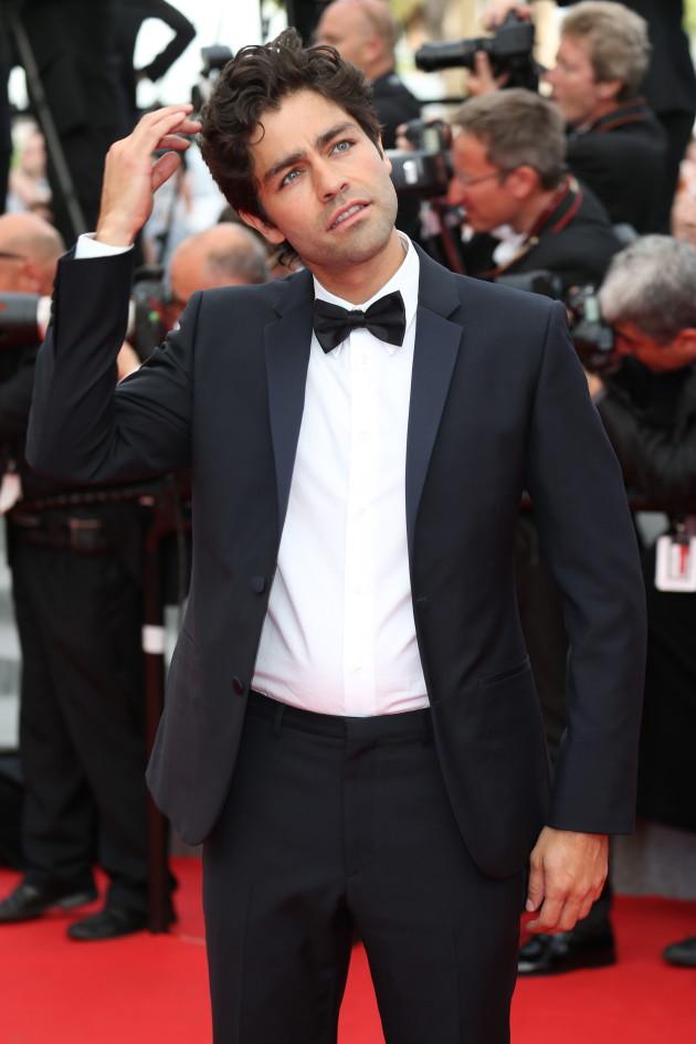 Adrian Grenier in Cannes