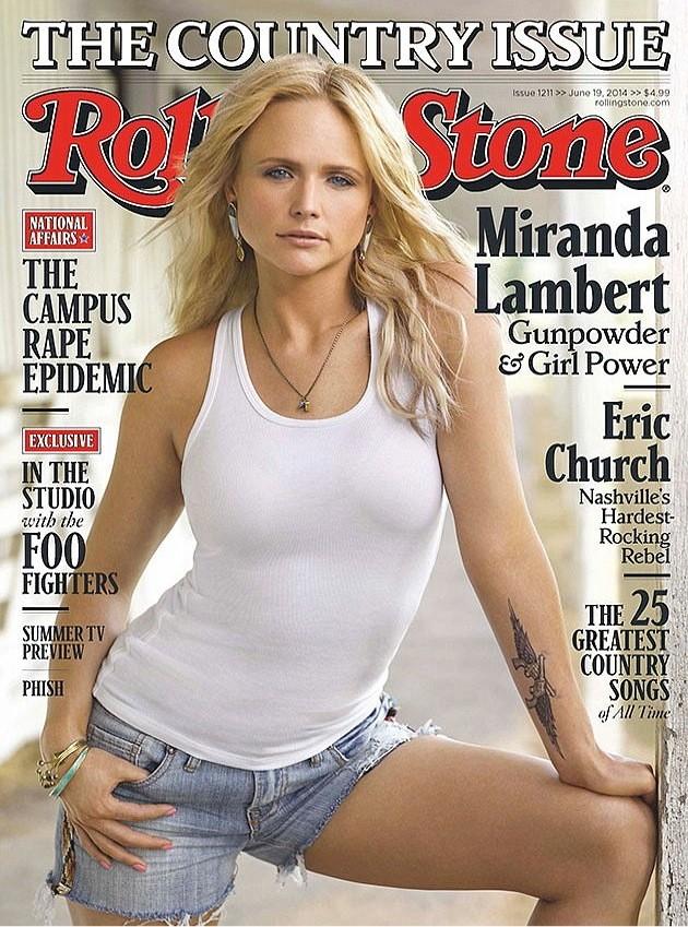 Miranda Lambert Rolling Stone Cover