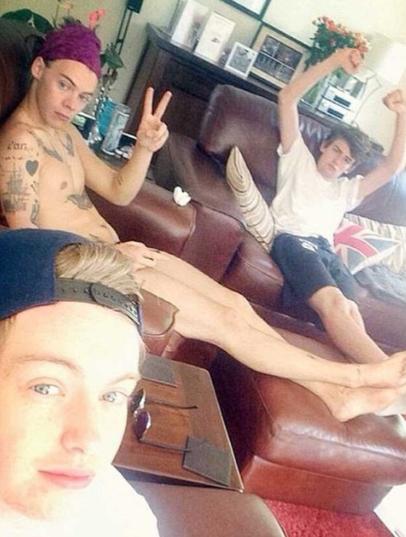 Harry Styles Naked