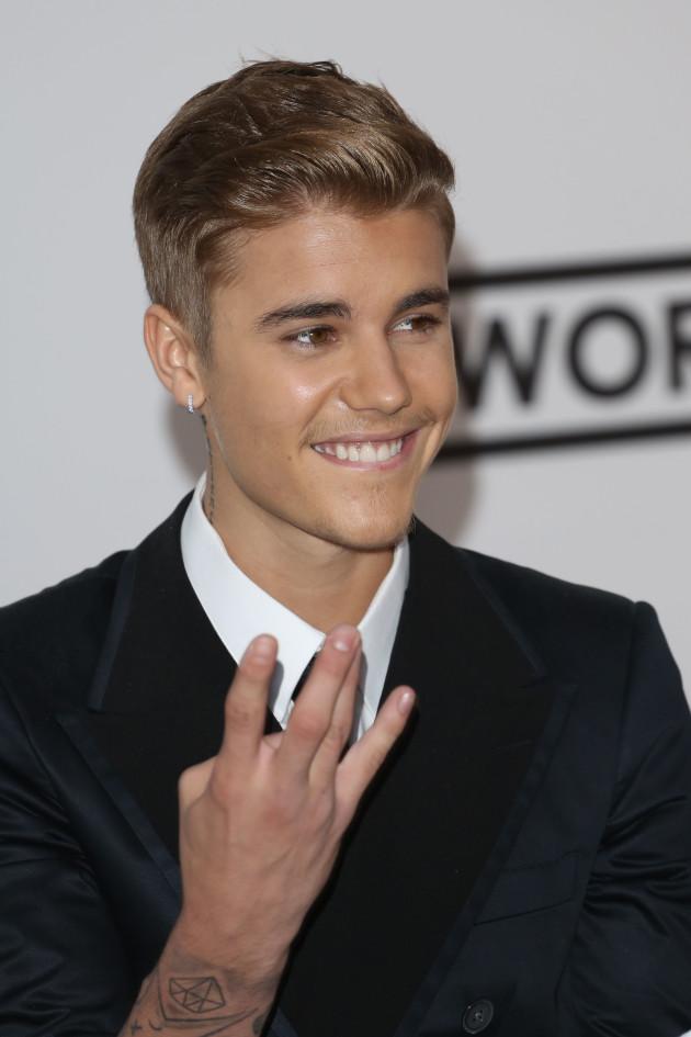 Justin Bieber Cannes Pic