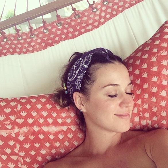 Katy Perry Vacation Photo