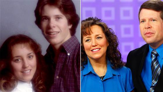 Jim Bob and Michelle Duggar Then and Now