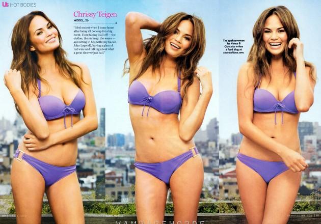 Chrissy Teigen Bikini Shots