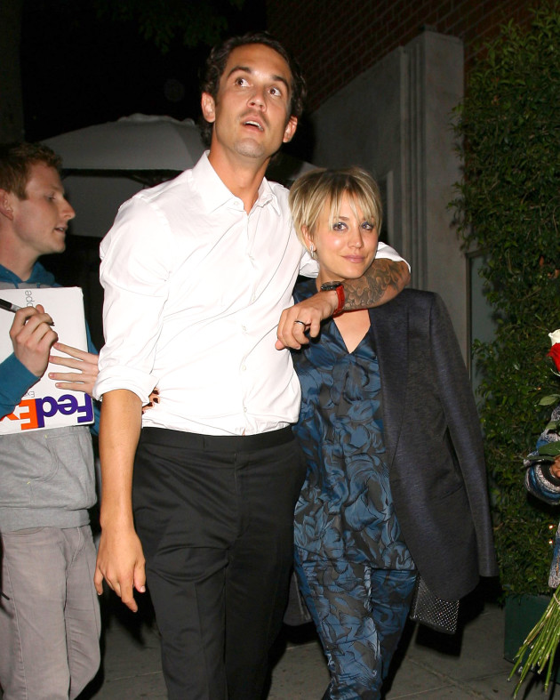 Kaley Cuoco and Ryan Sweeting: Date Night!