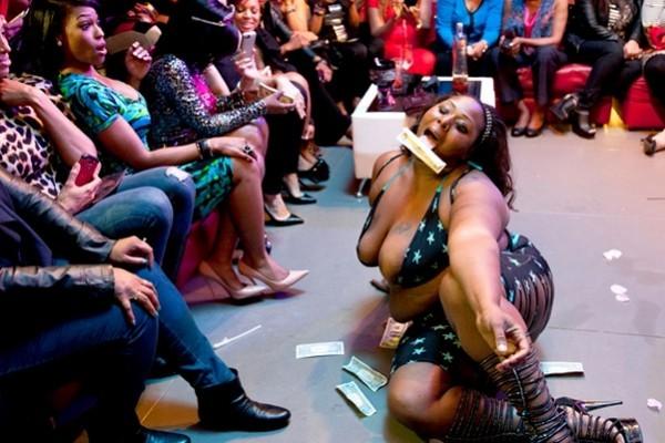 Kandi's Wedding Stripper
