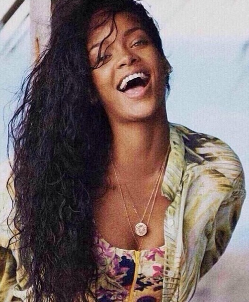 Rihanna Old School Pic